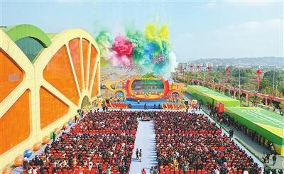 2019赣南脐橙网络博览会在信丰开幕 陈竺通过视频表示祝贺