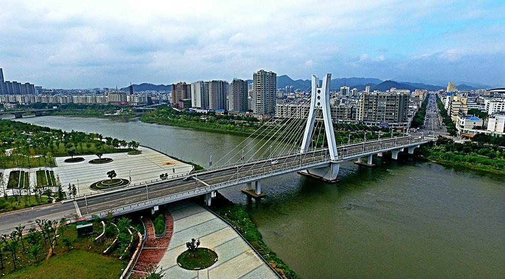 信丰县城新貌